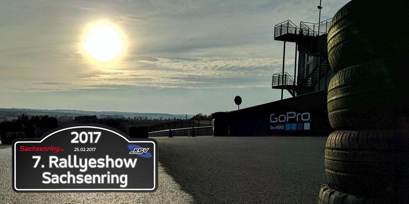 Rallyeshow Sachsenring 2017